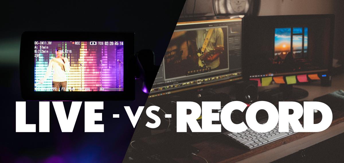 Live-Streaming vs. Pre-Recorded Services